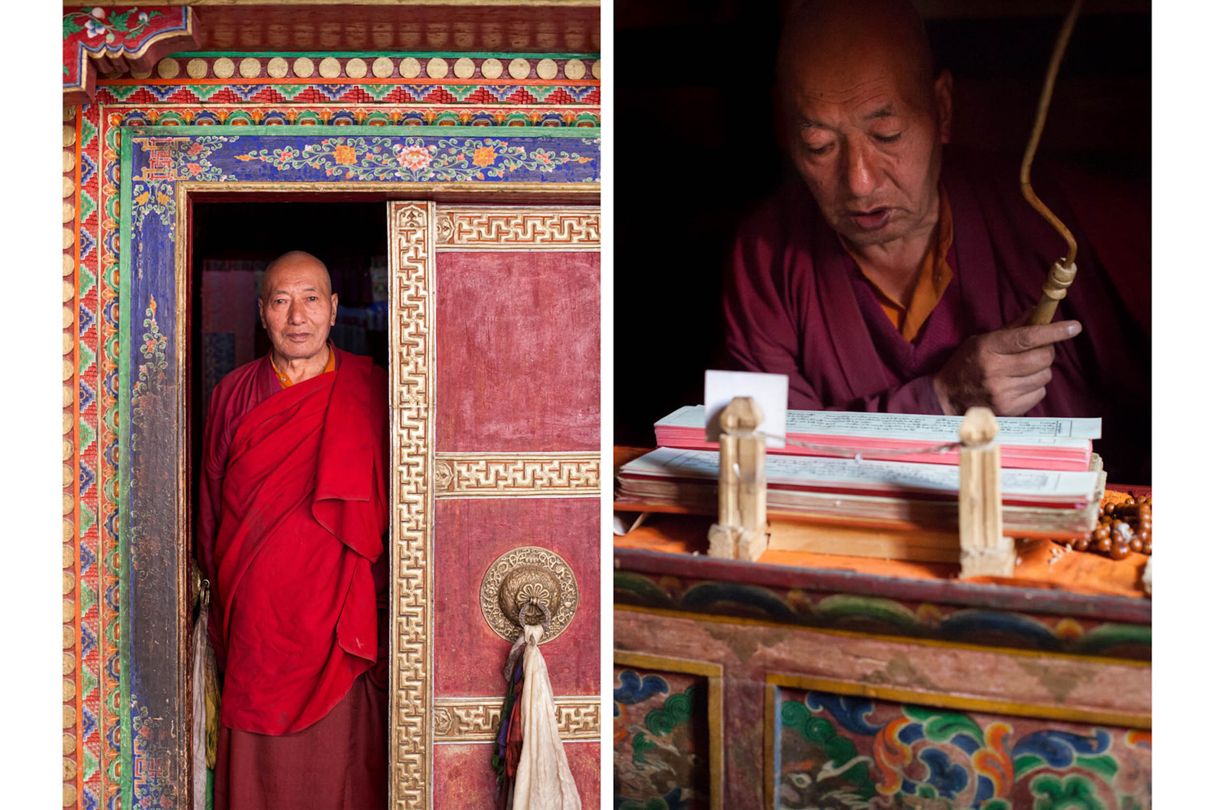 Travel-India-Ladakh-Lamayuru-Buddhist-Monastery-Monk-Portrait