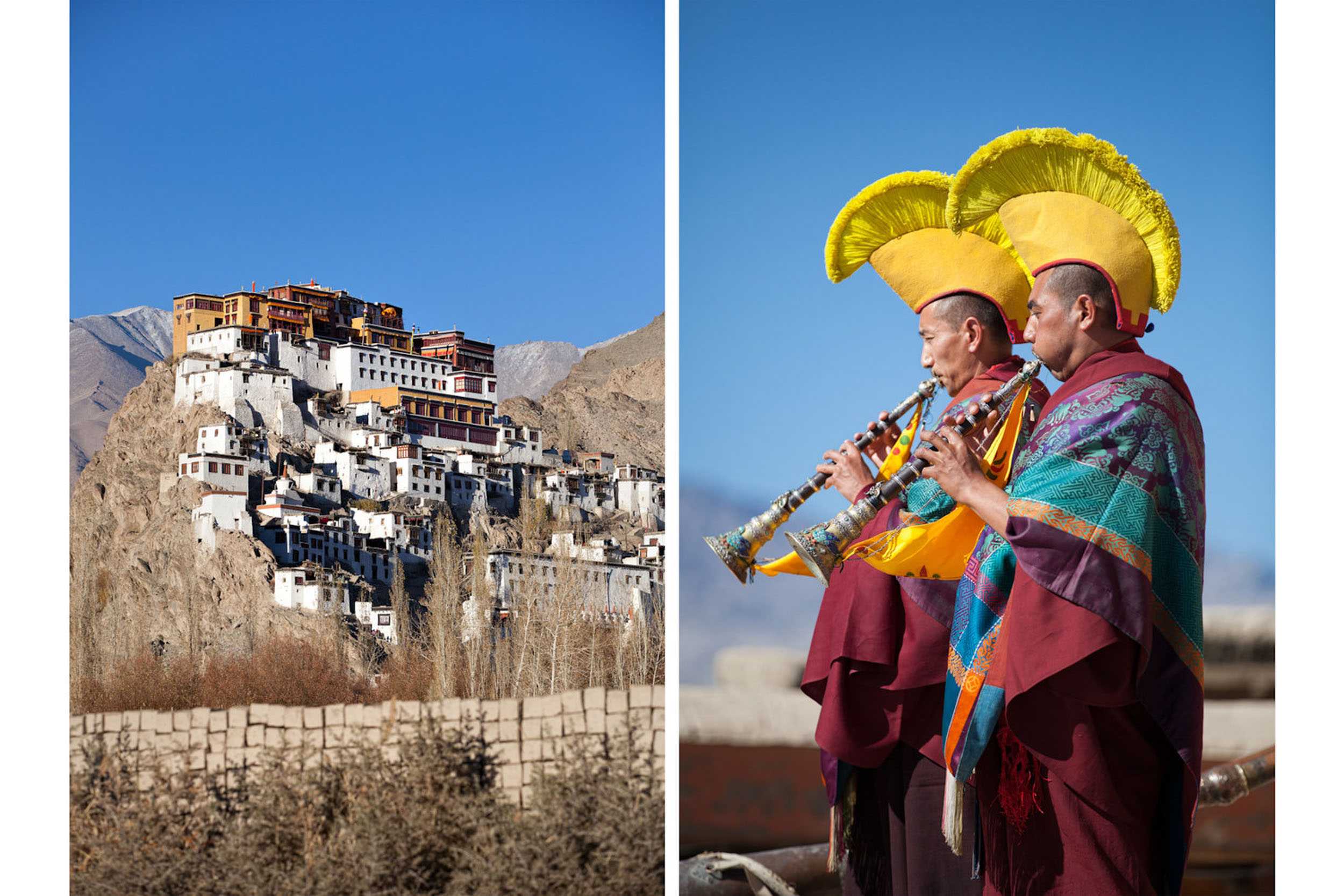 Travel-India-Ladakh-Leh-Thiksey-Buddhist-Monastery-Monk-Pujal