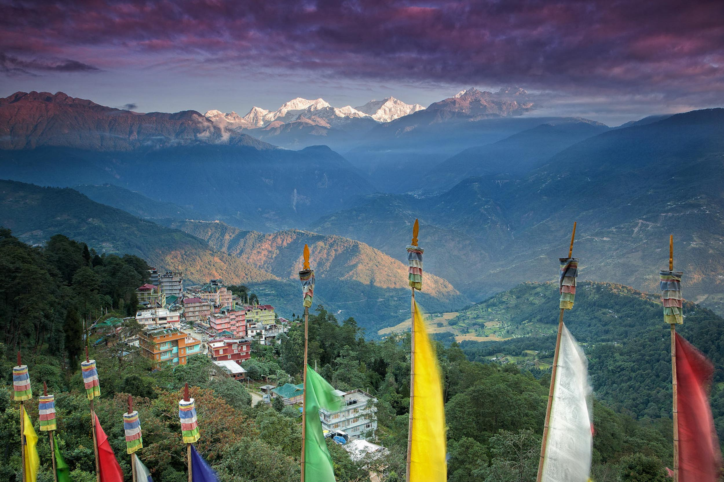 Travel-India-Sikkim-Pelling-Kanchenjunga